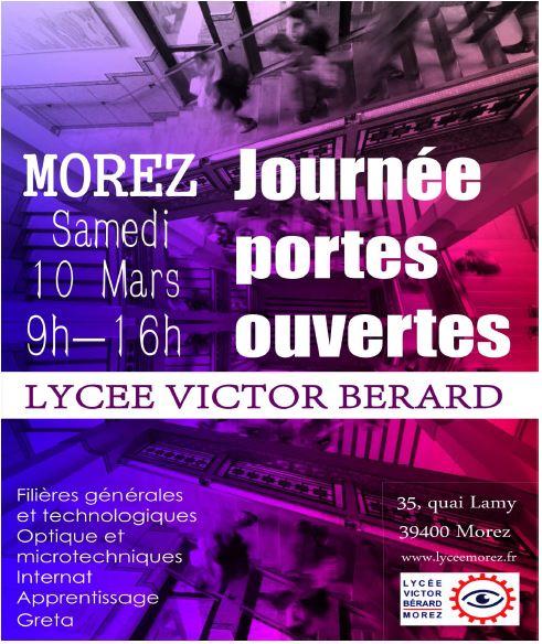 JPO Lycée Victor BERARD